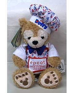 DISNEY USAディズニーテーマパーク限定 DUFFY THE DISNEY BEAR 12INCH 2012 CHEF DUFFY THE DISNEY BEAR