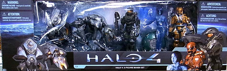McFARLANE HALO 4 SERIES 1 HALO 4 5-FIGURE BOXED SET