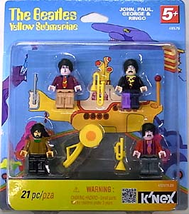 K'NEX THE BEATLES YELLOW SUBMARINE BUILDABLE SET