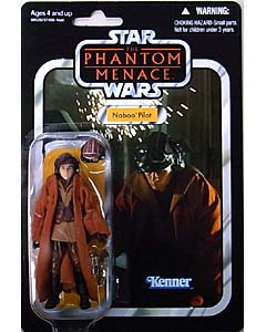 HASBRO STAR WARS 2012 THE VINTAGE COLLECTION NABOO PILOT [THE PHANTOM MENACE]