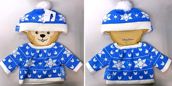 DISNEY USAディズニーテーマパーク限定 DUFFY THE DISNEY BEAR COSTUME [DUFFY THE DISNEY BEAR CHRISTMAS HOLIDAY COSTUME]