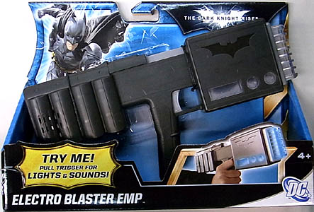 MATTEL 映画版 THE DARK KNIGHT RISES ELECTRO BLASTER EMP