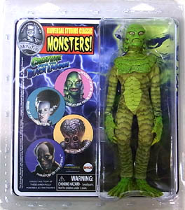 DIAMOND SELECT UNIVERSAL MONSTERS RETRO CLOTH ACTION FIGURE THE CREATURE FROM THE BLACK LAGOON