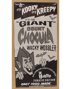FUNKO WACKY WOBBLER GIANT COUNT CHOCULA