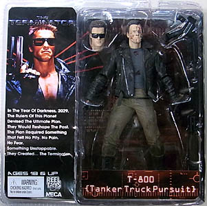 NECA TERMINATOR COLLECTION 7インチアクションフィギュア シリーズ3 THE TERMINATOR T-800 [TANKER TRUCK PURSUIT]