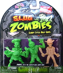 JAKKS PACIFIC S.L.U.G. ZOMBIES SERIES 2 3PACK [STU B' YOU, MASH-UP MIKE, GATOR JONES] パッケージ傷み特価