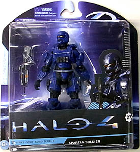 McFARLANE HALO 4 SERIES 1 SPARTAN SOLDIER [BLUE]