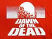 「ゾンビ」 DAWN OF THE DEAD /ポスターデザイン(赤)バックプリント