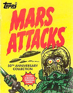 MARS ATTACKS トレーディングカード コレクターズガイド