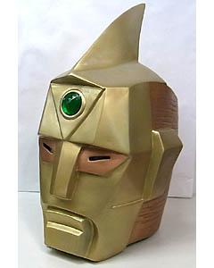 個人ハンドメイド品 スペクトルマン FRP製 ディスプレイ仕様マスク