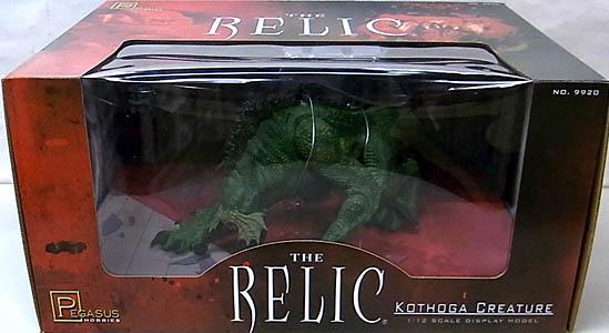 PEGASUS HOBBIES 1/12スケール THE RELIC KOTHOGA CREATURE 塗装、組み立て済み完成品