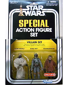 HASBRO STAR WARS USA TARGET限定 SPECIAL ACTION FIGURE SET VILLAIN SET BOBA FETT入り