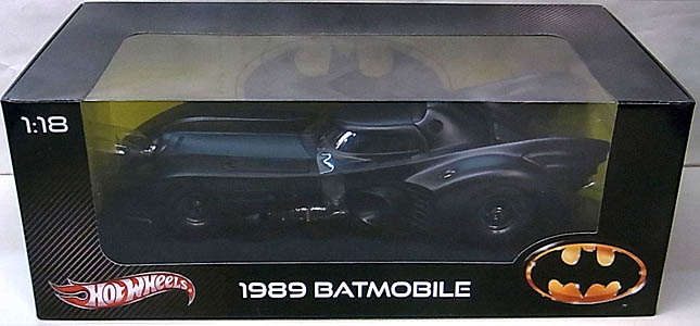 マテル ホットウィール 1/18スケール 1989年 ティム・バートン版 バットマン バットモービル ダイキャストミニカー ノーマル版