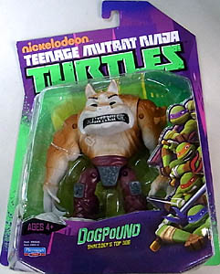 PLAYMATES NICKELODEON TEENAGE MUTANT NINJA TURTLES ベーシックフィギュア DOGPOUND