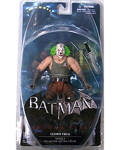 DC COLLECTIBLES BATMAN: ARKHAM CITY SERIES 3 CLOWN THUG [GREEN HAIR]