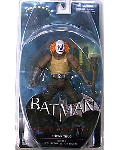 DC COLLECTIBLES BATMAN: ARKHAM CITY SERIES 3 CLOWN THUG [ORANGE HAIR]