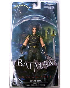 DC COLLECTIBLES BATMAN: ARKHAM CITY SERIES 3 RA'S AL GHUL