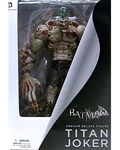 DC COLLECTIBLES BATMAN: ARKHAM CITY DX TITAN JOKER パッケージワレ特価