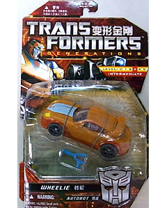 HASBRO TRANSFORMERS GENERATIONS ASIA限定 DELUXE CLASS WHEELIE