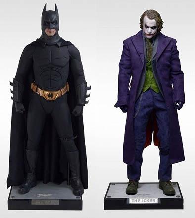 ENTERBAY 1/4 HDマスターピースコレクション バットマン ダークナイト バットマン&ジョーカー 2体セット 購入特典付き