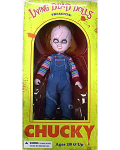 MEZCO LIVING DEAD DOLLS BRIDE OF CHUCKY CHUCKY