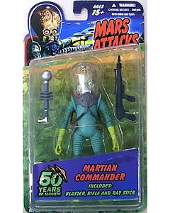 MEZCO MARS ATTACKS 6インチアクションフィギュア MARTIAN COMMANDER