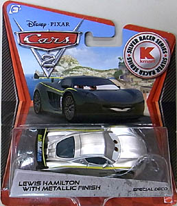 MATTEL CARS2 KMART限定 SILVER RACER SERIES LEWIS HAMILTON 台紙傷み特価