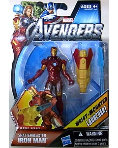 HASBRO 映画版 THE AVENGERS 3.75インチ MOVIE SERIES SHATTERBLASTER IRON MAN