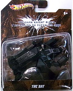 MATTEL HOT WHEELS BATMAN 1/50スケール BATMOBILE 2012 映画版 THE DARK KNIGHT RISES THE BAT ブリスター傷み特価
