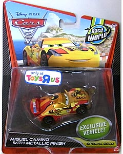 MATTEL CARS2 シングル USA TOYSRUS限定 MIGUEL CAMINO WITH METALLIC FINISH