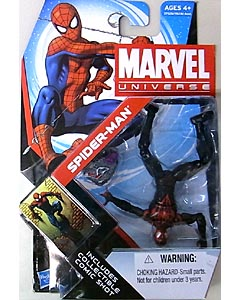 HASBRO MARVEL UNIVERSE SERIES 4 #007 VARIANT SPIDER-MAN [ULTIMATE COMICS]