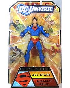 MATTEL DC UNIVERSE CLASSICS ALL STARS SUPERBOY PRIME 台紙傷み特価