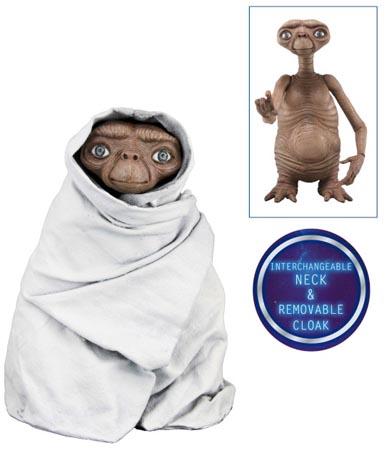 NECA E.T. 7インチアクションフィギュア シリーズ2 NIGHT FLIGHT E.T.