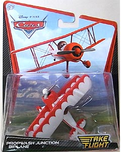 MATTEL CARS TAKE FLIGHT シングル PROPWASH JUNCTION BIPLANE ブリスター傷み特価