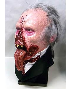 個人ハンドメイド品 死霊のえじき ドクター・タン FRP製 ディスプレイ仕様マスク