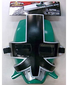 USA BANDAI POWER RANGERS SUPER SAMURAI MEGA RANGER MASK [GREEN / FOREST]