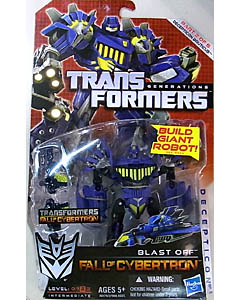 HASBRO TRANSFORMERS GENERATIONS FALL OF CYBERTRON DELUXE CLASS BLAST OFF [DECEPTICON BRUTICUS]