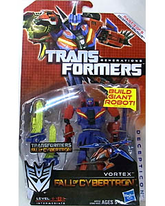 HASBRO TRANSFORMERS GENERATIONS FALL OF CYBERTRON DELUXE CLASS VORTEX [DECEPTICON BRUTICUS]