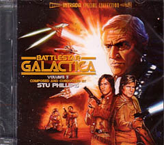 BATTLESTAR GALACTICA VOLUME 3: ORIGINAL TV SOUNDTRACK 宇宙空母ギャラクティカ
