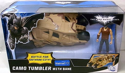 MATTEL 映画版 THE DARK KNIGHT RISES USAウォルマート限定 CAMO TUMBLER WITH BANE