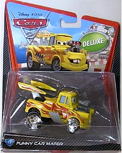 MATTEL CARS2 DELUXE FUNNY CAR MATER