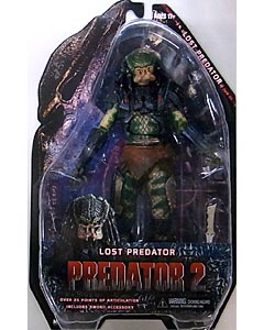 NECA PREDATORS 7インチアクションフィギュア シリーズ6 PREDATOR 2 LOST PREDATOR