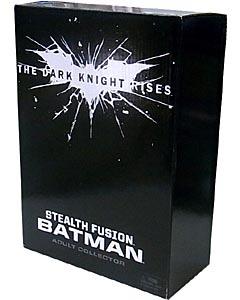 MATTEL 映画版 THE DARK KNIGHT RISES オンライン限定 8インチ STEALTH FUSION BATMAN