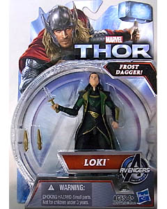 HASBRO 映画版 THOR: THE DARK WORLD 3.75インチ LOKI