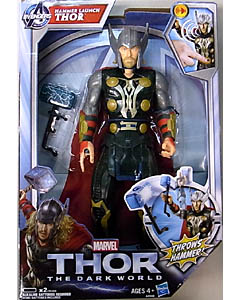 HASBRO 映画版 THOR: THE DARK WORLD 10インチ HAMMER LAUNCH THOR
