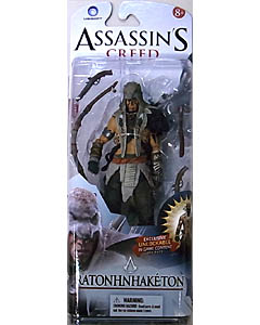 McFARLANE ASSASSIN'S CREED 6インチアクションフィギュア SERIES 1 ASSASSIN'S CREED III RATONHNHAKE:TON