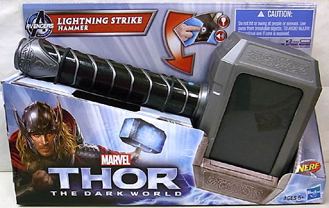 HASBRO 映画版 THOR: THE DARK WORLD LIGHTNING STRIKE HAMMER