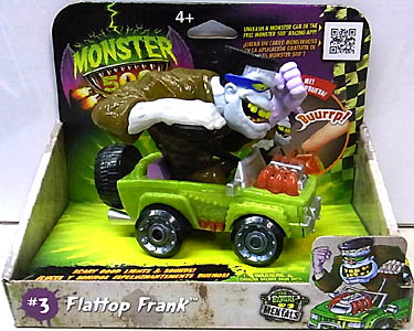 その他・海外メーカー MONSTER 500 LARGE CAR & TRADING CARD FLATTOP FRANK