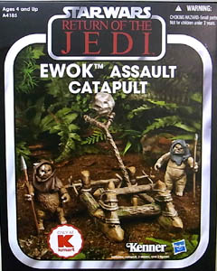HASBRO STAR WARS 2013 THE VINTAGE COLLECTION USA KMART限定 EWOK ASSAULT CATAPULT [RETURN OF THE JEDI]