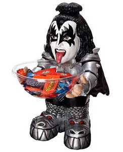 RUBIE'S KISS GENE SIMMONS CANDY HOLDER